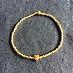 Armband, Miyuki, Perlen, Herz