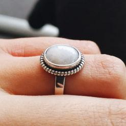 ring, sterling925, alunir
