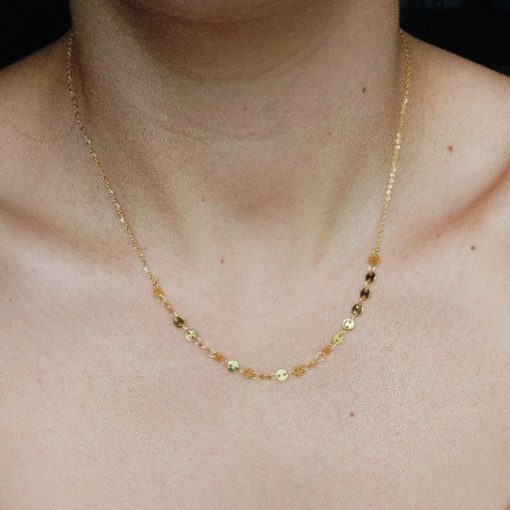 Halskette Suave Gold Alunir