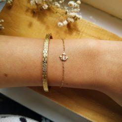 Halskette Monde Gold Alunir