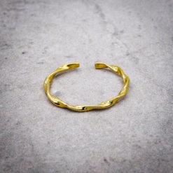alunir, ring, manon, gold, sterling