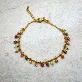 Armband Caroline Zirkonia Gold