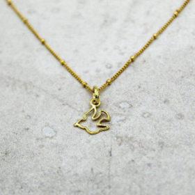 Halskette Colombe Gold