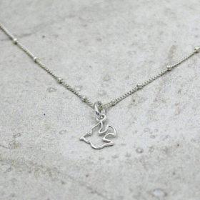 Halskette Colombe Silber