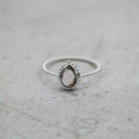 Ring Marie Rosenquarz Silber