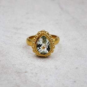 Ring Sophie Amethyst Gold