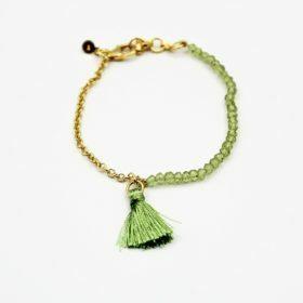 Armband Chayanne Peridot Gold