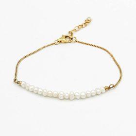 Armband Elea Perle Gold