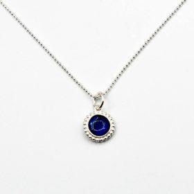 Halskette Kalea Kyanit Silber