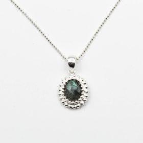 Halskette Puanani Labradorit Silber