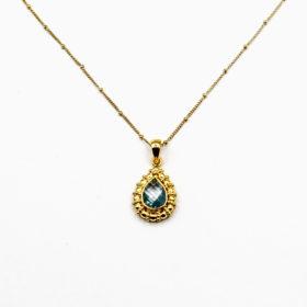 Halskette Liana Topaz Gold