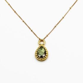 Halskette Rea Labradorit Gold