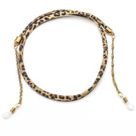 Brillenband Leo Gold