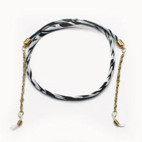 Brillenband Zebra Gold