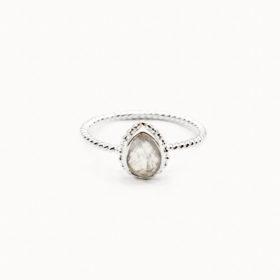Ring Marie Mondstein Silber