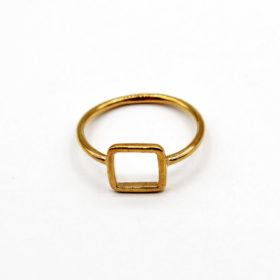 Ring Carre Gold