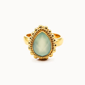 Ring Sophie Chalcedon Gold