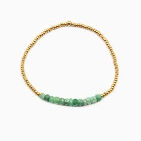 Armband Lanai Smaragd Gold