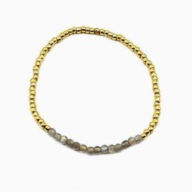 Armband Lanai Labradorit Gold