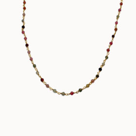 Halskette Nia Turmalin Gold
