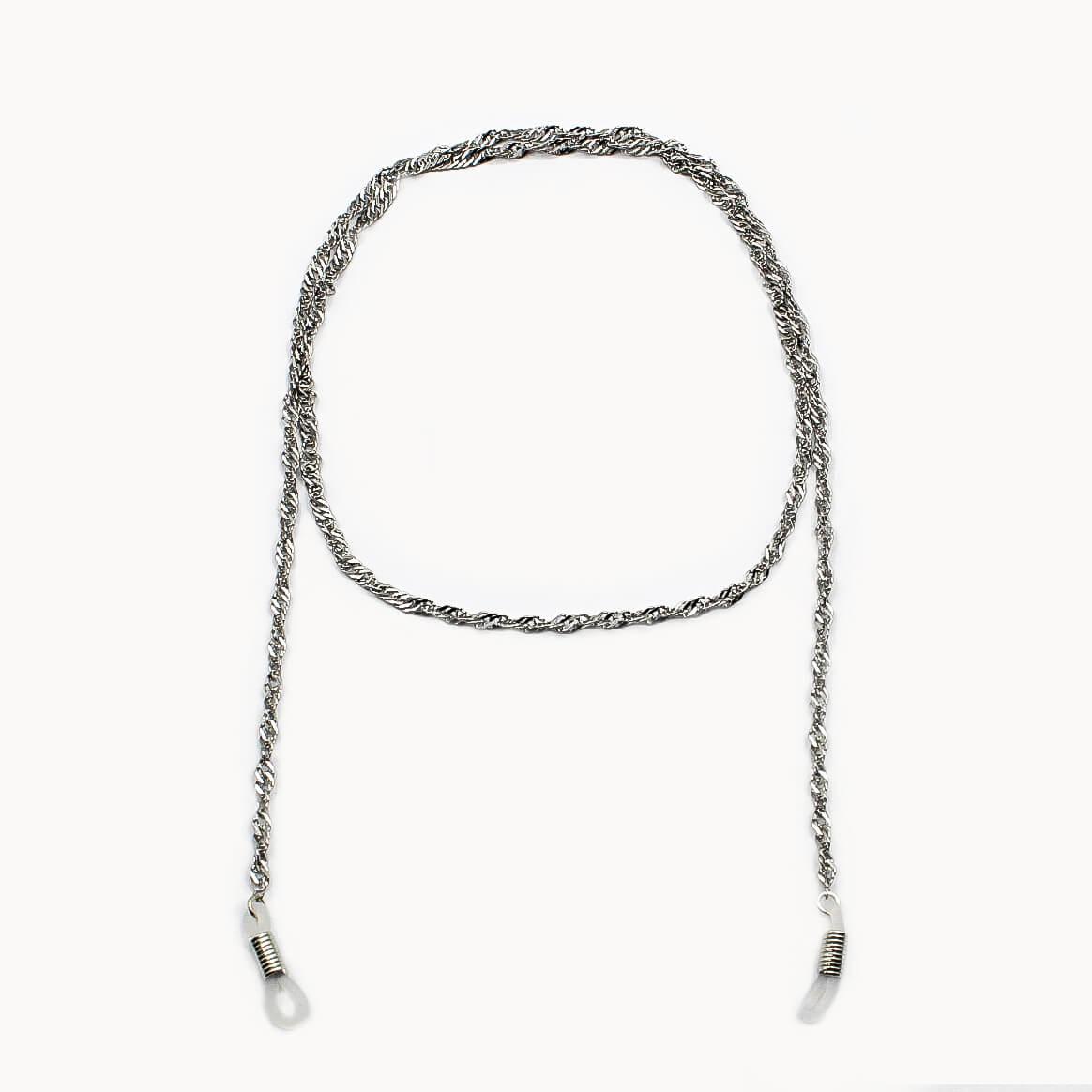 Image of Brillen- und Maskenkette Silver