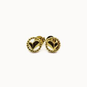 Ohrringe Herz Gold