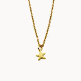 Halskette Seestern Gold