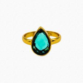 Ring Magali Apatit Hydro Gold