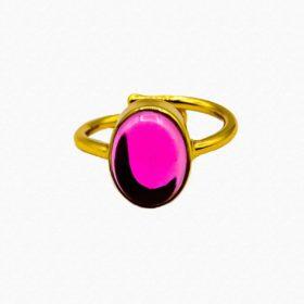 Ring Leonie Turmalin Hydro Pink Gold