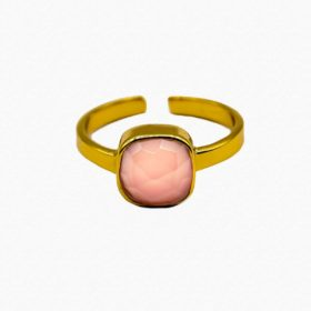 Ring Emilia Rosenquarz Gold