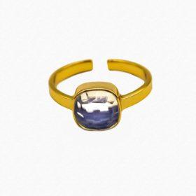 Ring Emilia Opalit Gold