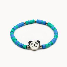 Armband Panda Silber