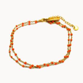 Fusskette Fay Orange