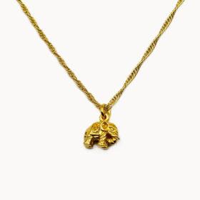 Halskette Elephant Gold
