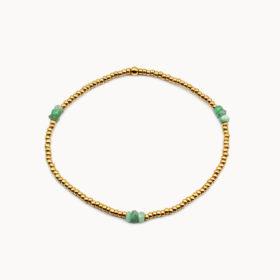 Armband Lania Smaragd Gold