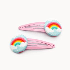 Haarspange Rainbow