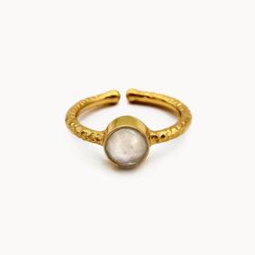 Ring Lene Mondstein Gold