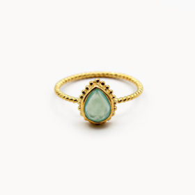 Ring Marie Chalcedon Gold
