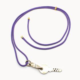 Schlüsselanhänger Viola Gold