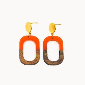 Ohrringe Fabia Orange