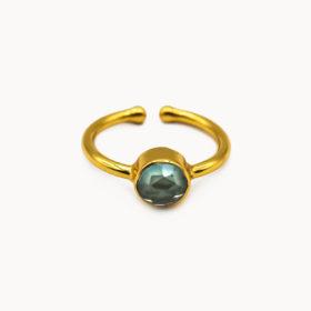 Ring Mali Amethyst Hydro Gold