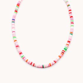 Halskette Havin Rainbow Pink