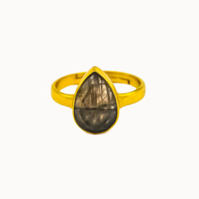 Ring Magali Labradorit Gold