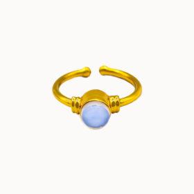Ring Malia Opalit Hydro Gold