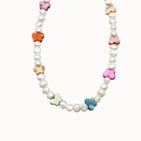 Halskette Perla Papillon