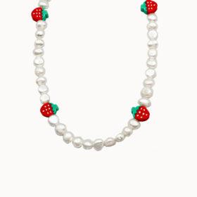 Halskette Perla Fraise